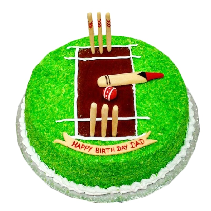 Cricket Pitch Cake Delivery In Rohtak Send Cricket Pitch
