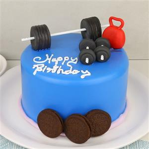 Fitness Themed Cakes