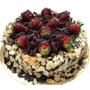 Chocolaty Strawberry Cake